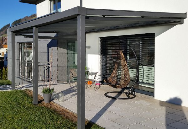 perasol terrassendach lamellendach carport aus aluminium